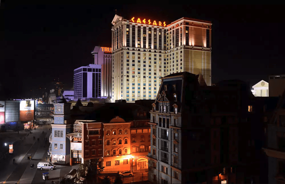 The Caesars Hotel Resort in Atlantic City