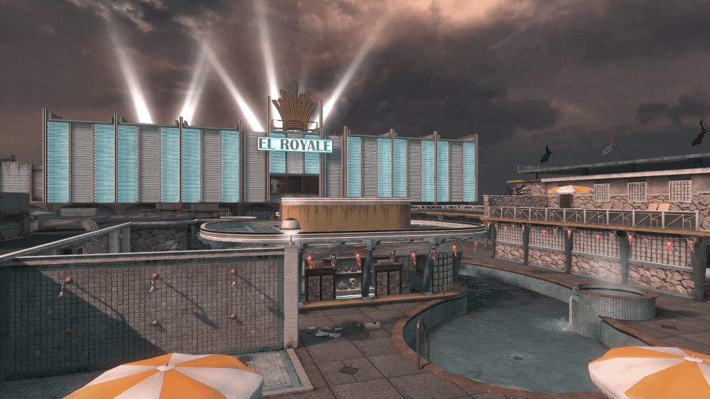 Call of Duty Black Ops Hotel Map