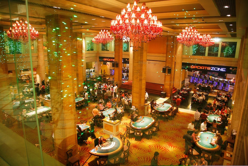 An image of the Nagaworld Casino in Cambodia