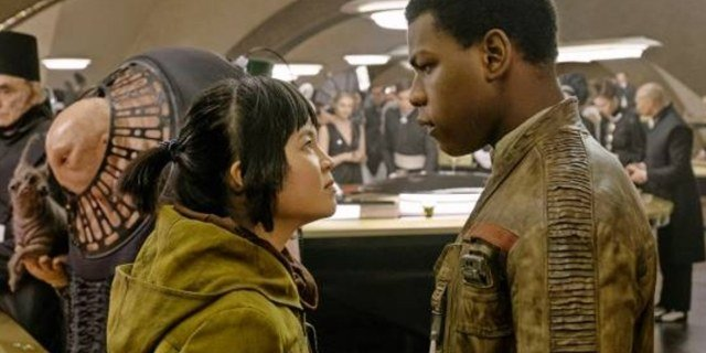The main characters from the Canto Bight story-line in The Last Jedi