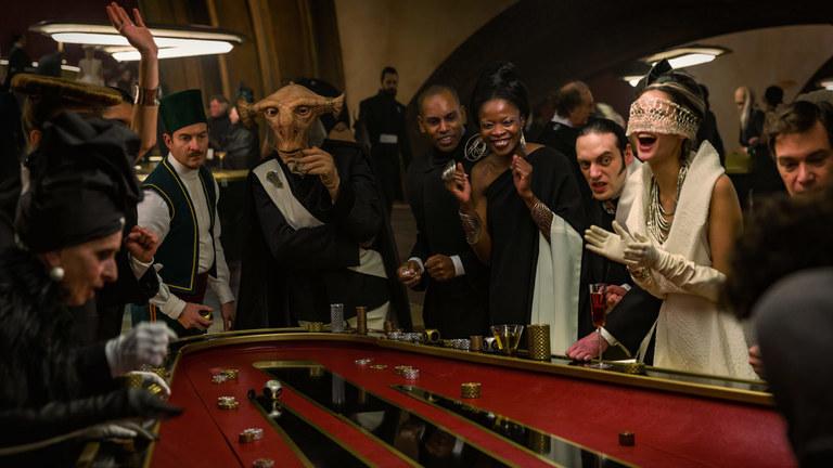 The Canto Casino at Canto Bight in The Last Jedi