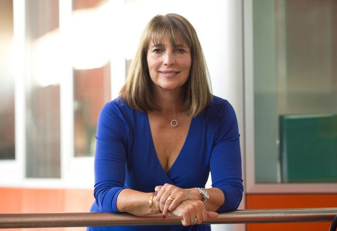Carolyn McCall, the chief executive of ITV and easyJet
