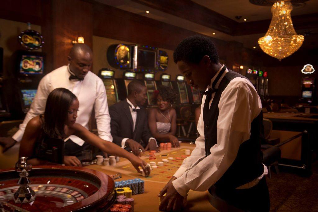 An image from a Kenyan casino