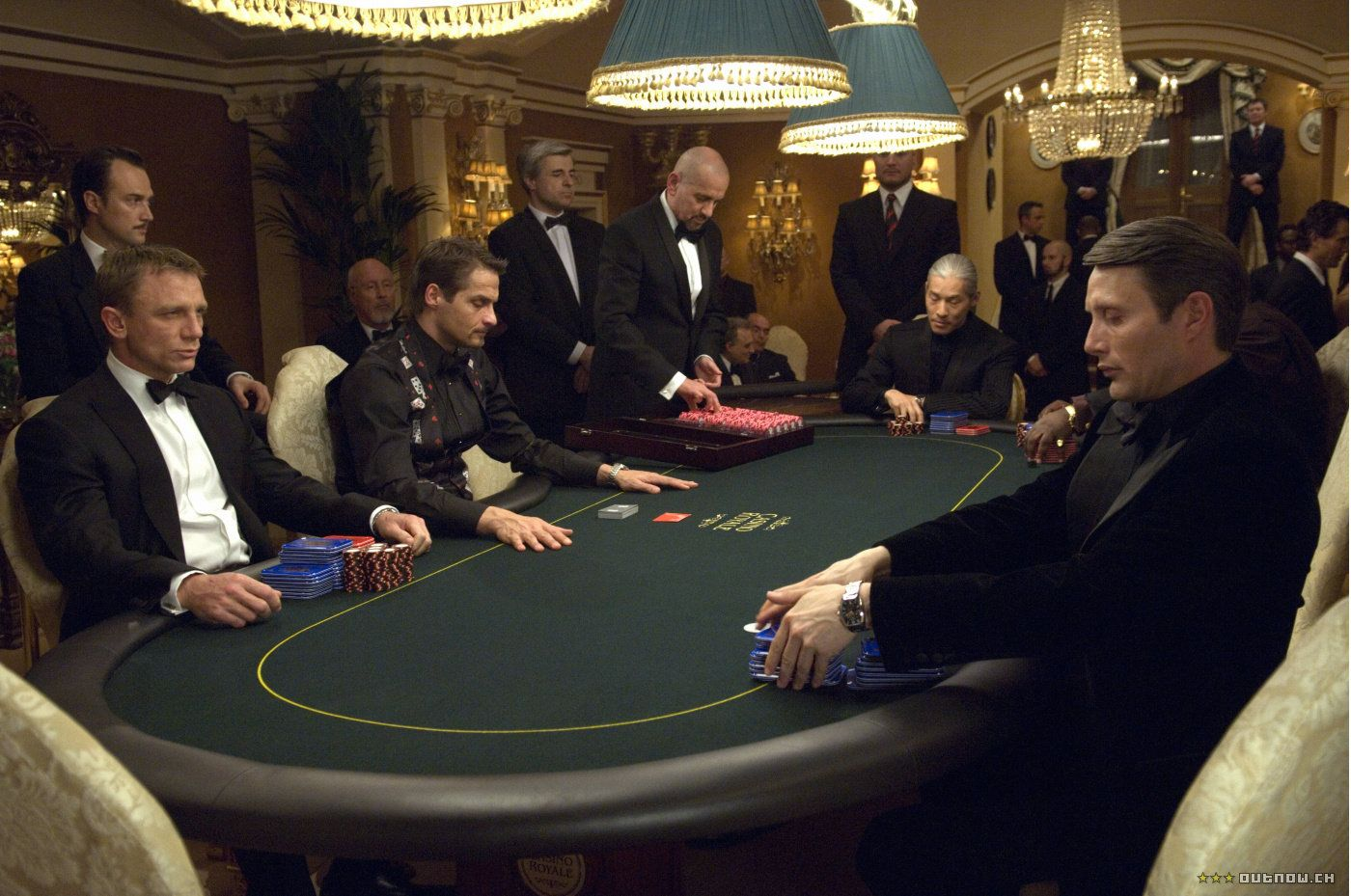 A scene from James Bond: Casino Royale