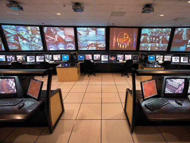 casino control room layout