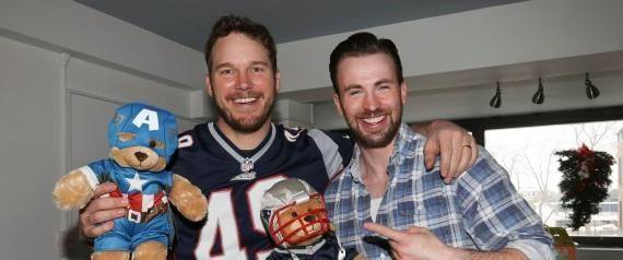 Chris Pratt and Chris Evans