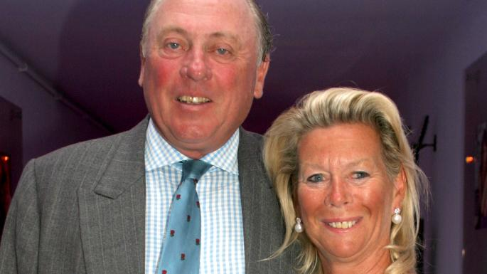 Christopher Hanbury and his wife Helen