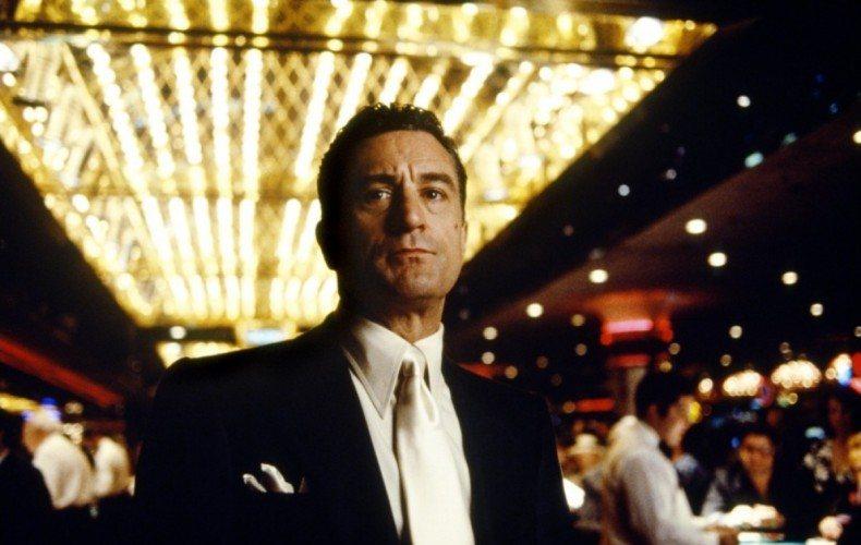 Robert De Niro starring in the 1995 film Casino