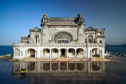 The abandoned Constanta Casino in Romania