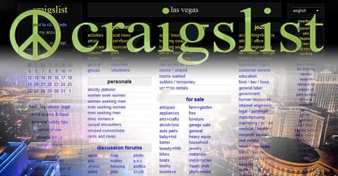 Craigslist in Las Vegas