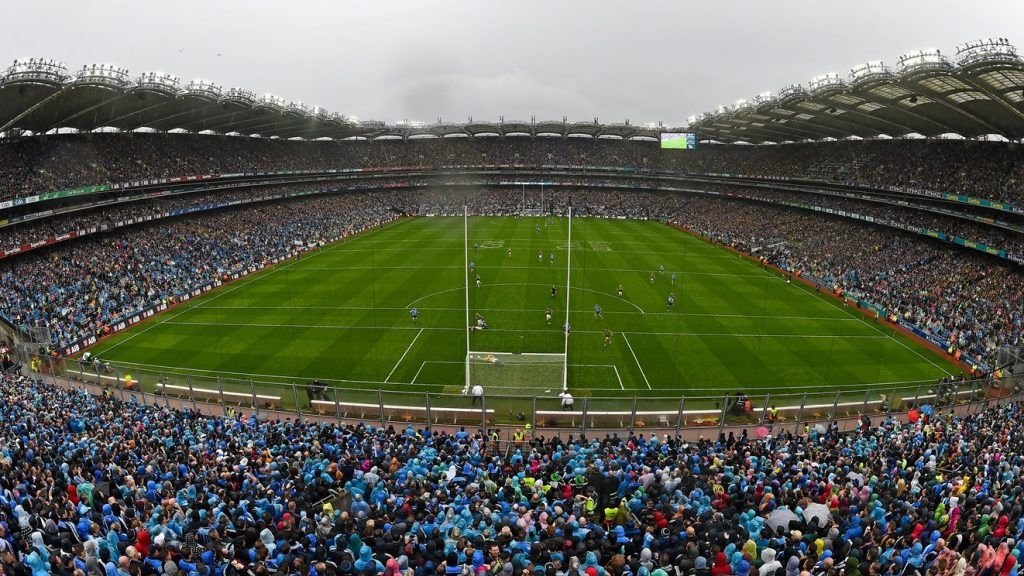 An image from the Championship finall at Croke