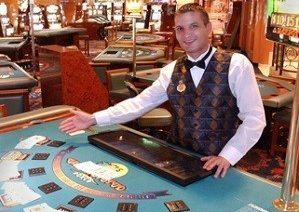 The job of a cruise ship dealer can be interesting (Image: cruiseshipjob.com)