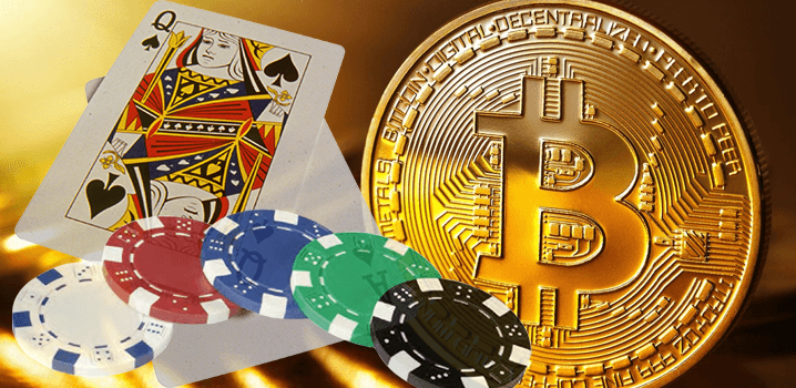 Cryptocurrency used for online gambling