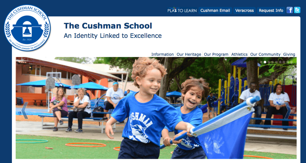 kids at Cushman School, Miami