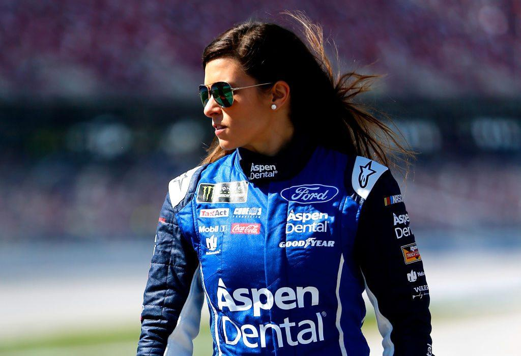 An image of Danica Patrick, the famous racing driver