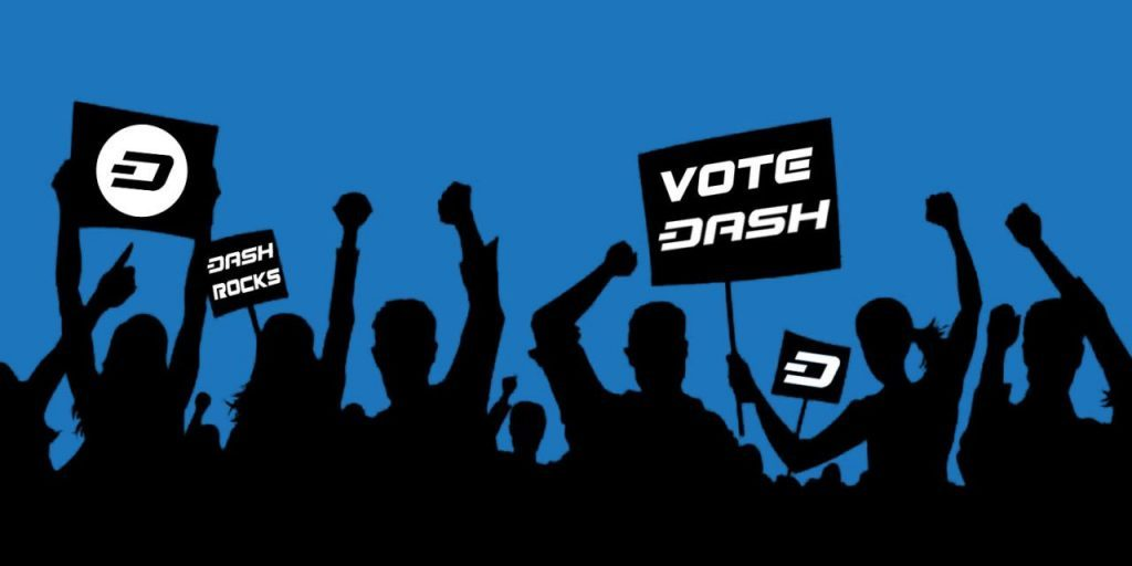 Dash cryptocurrency governance system
