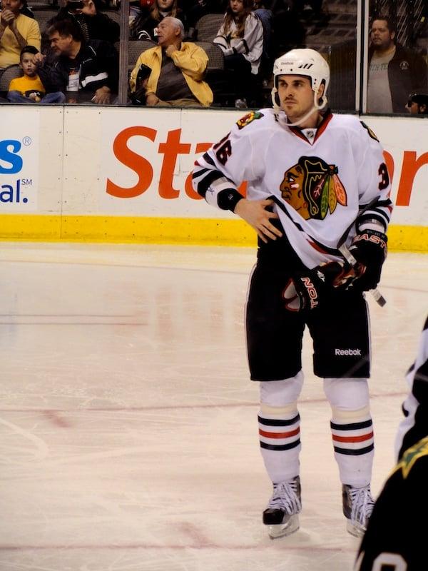 Dave Bolland - pemain NHL