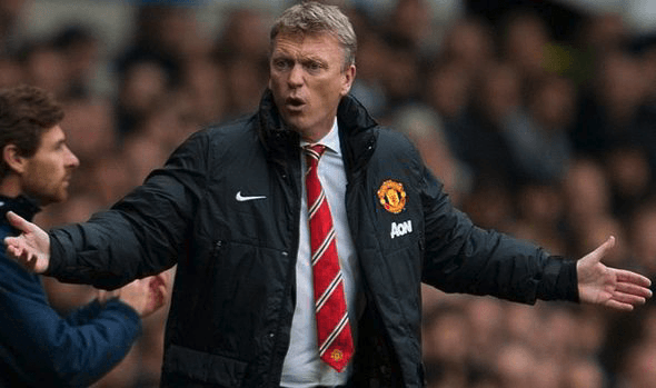 David Moyes during his time managing Manchester United