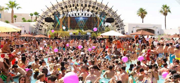 The Mandalay Bay pool party