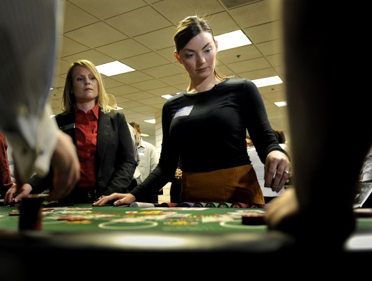 Casino dealer training school