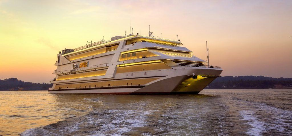 legal casino on cruise ship off Indian coast