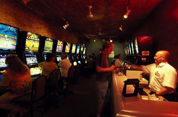 Inside the Desert Cave Hotel and Casino in Australia