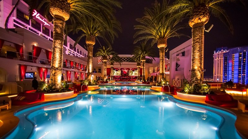 Drai's Beach Club at The Cromwell, a hot spot for celebrities