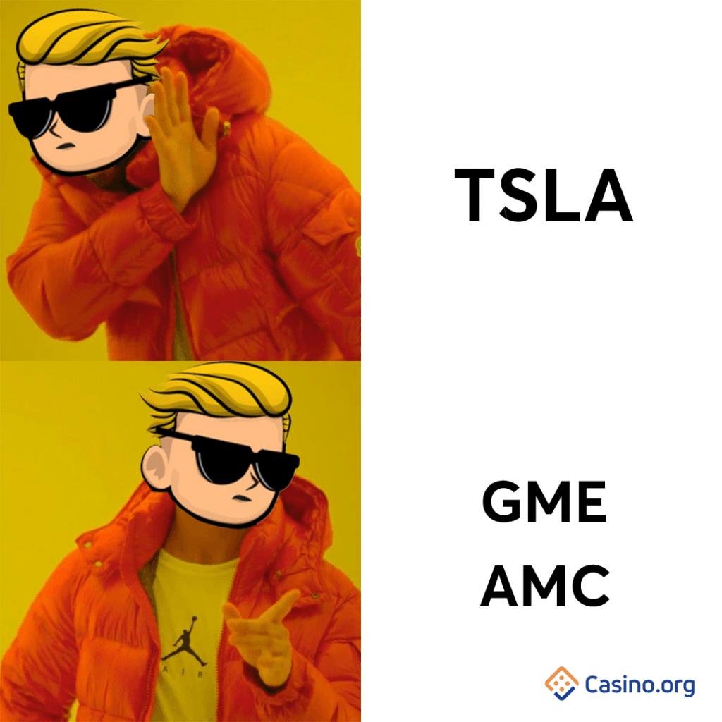 GameStop meme - Drake