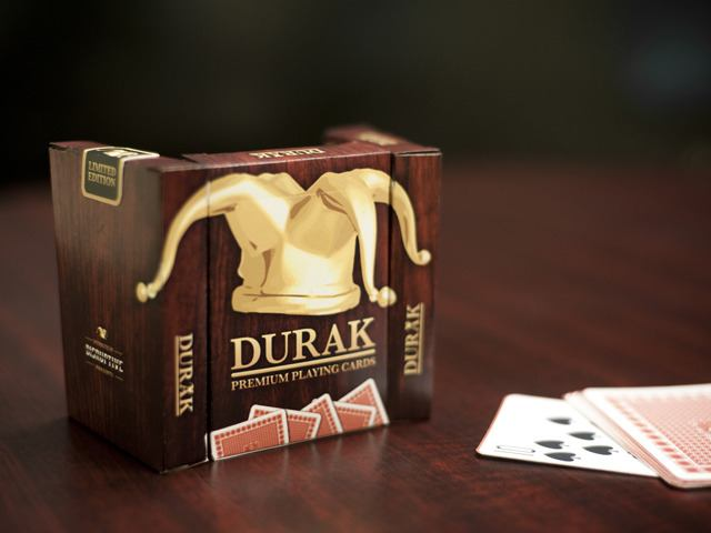 An image of some premium Durak playing cards