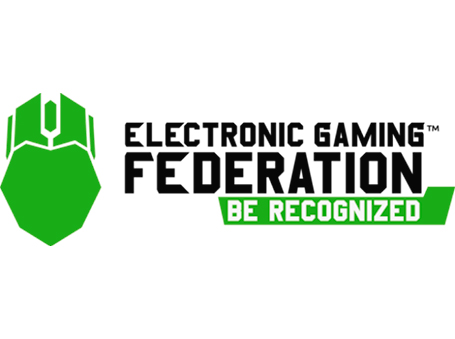 The logo representing the Electronic Gaming Federation (EDF)
