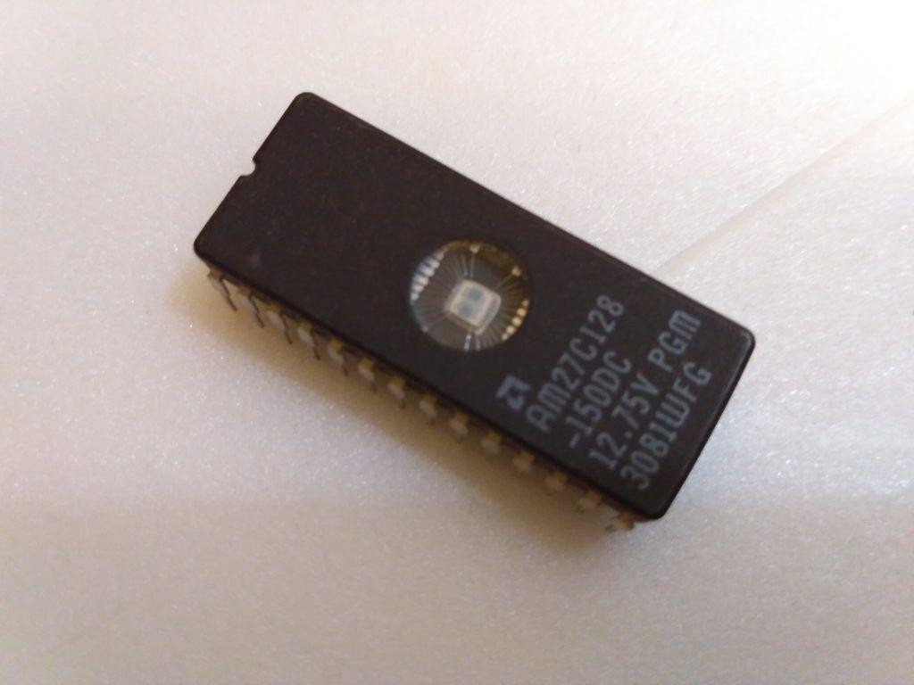 EPROM chip