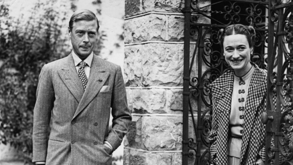Prince Edward and Wallis Simpson were a royal couple that famously separated