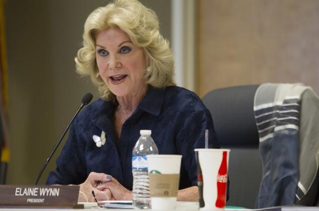 Elaine Wynn, the former wife of Steve Wynn