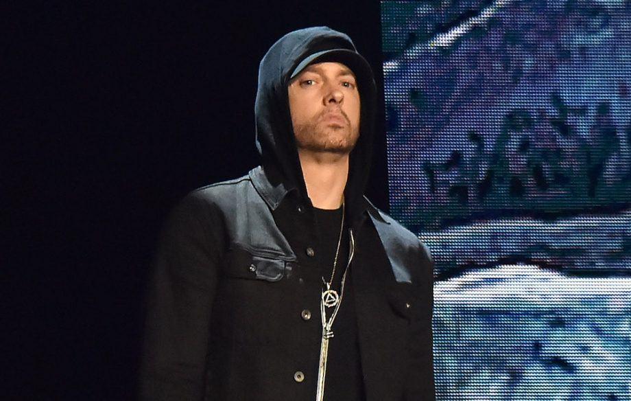 Legendary rapper Eminem