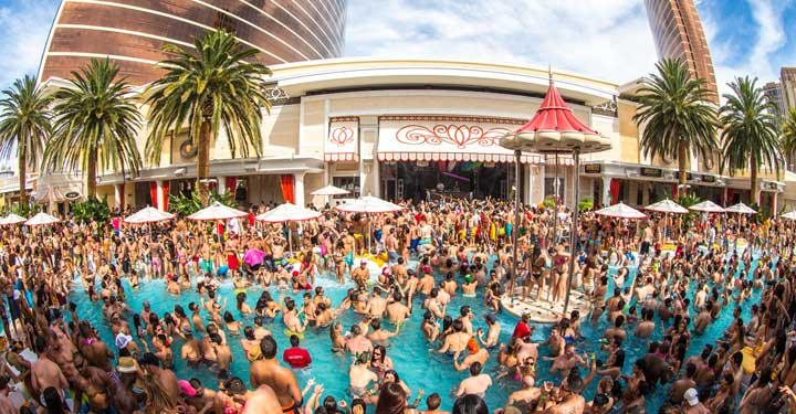 Wynn Las Vegas pool party