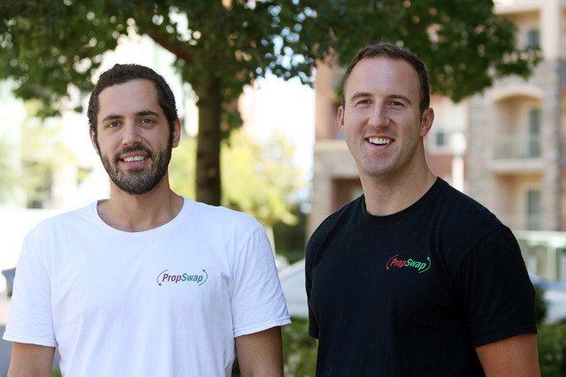 The entrepreneurs who founded PropSwap