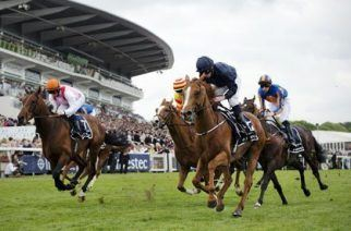 At the Epsom Derby, the oldest horserace on our list, it's not just the thoroughbreds that attract attention from the crowds. (Image: Adrian Dennis/AFP/Getty Images)
