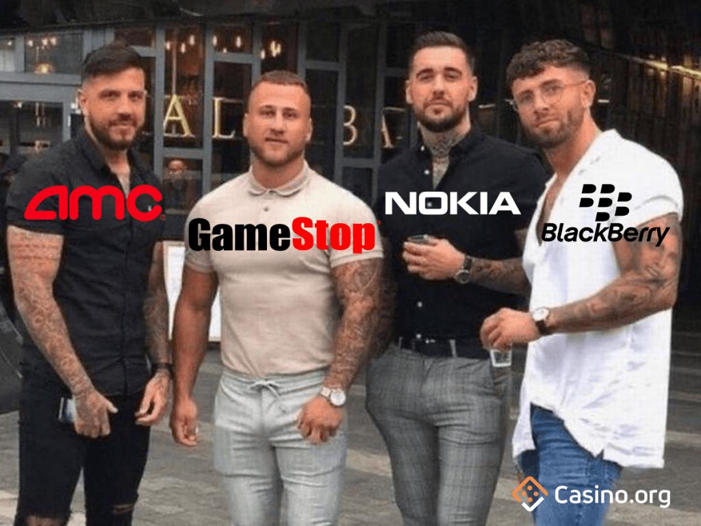 GameStop meme - Essex lads
