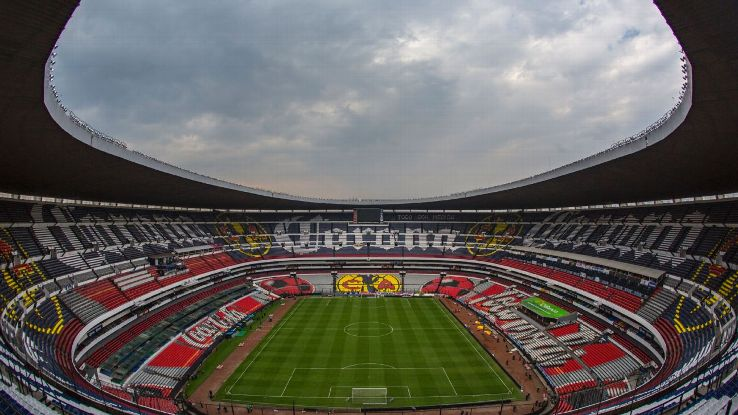 An image of the Estadio Azteca stadium