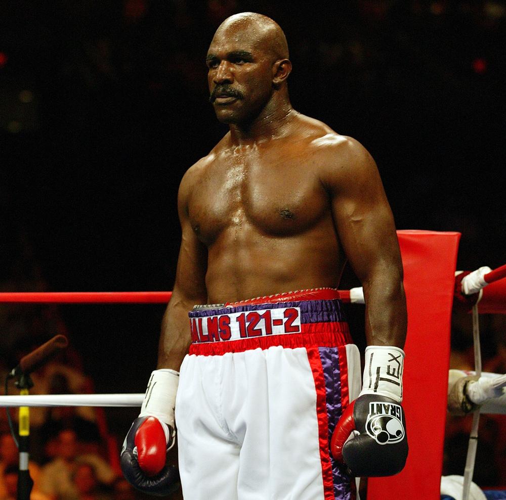 Evander Holyfield  - boxer