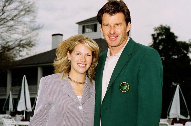 golfing couple nick faldo and breena cepelak