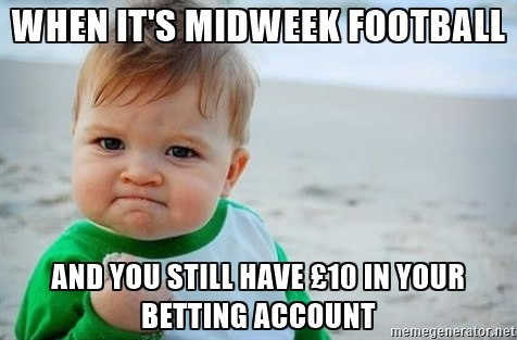 Sports betting meme