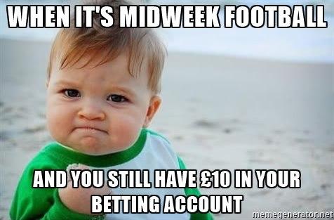 Sports betting meme