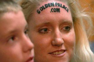 Did Woman's Forehead Casino Tattoo Gamble Pay Off?