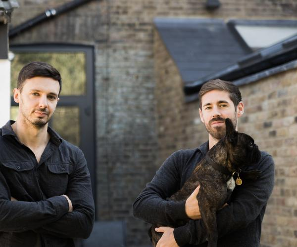 The founders of WinAbode, a UK property raffle