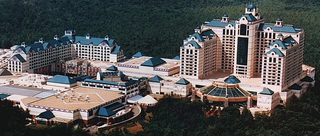 The Foxwoods Resort Casino in the USA