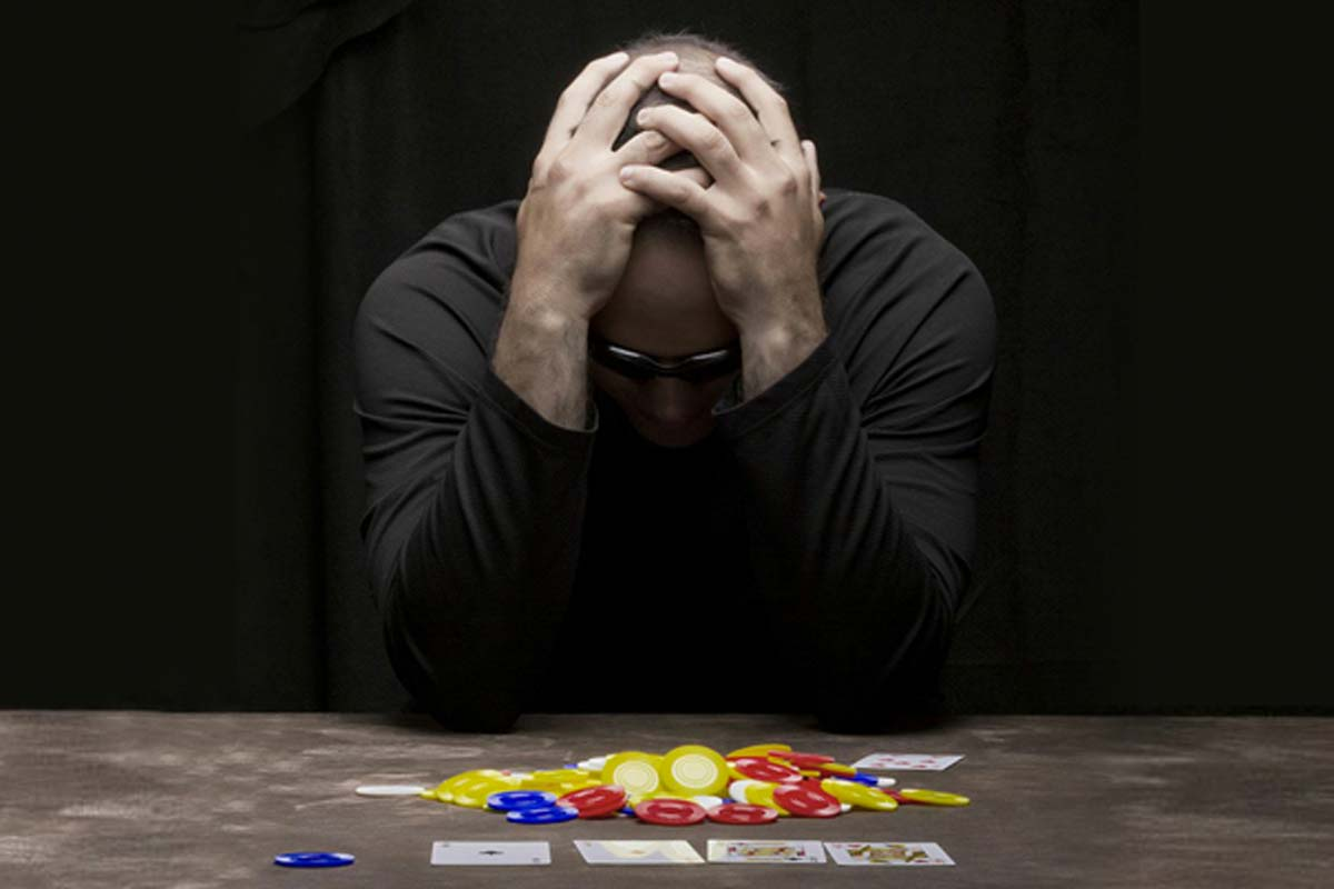 The negative impact gambling can have if you lose