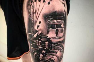 10 of the Most Epic Gambling-Themed Tattoos Ever