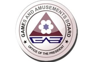 The logo for the Games and Amusements Board