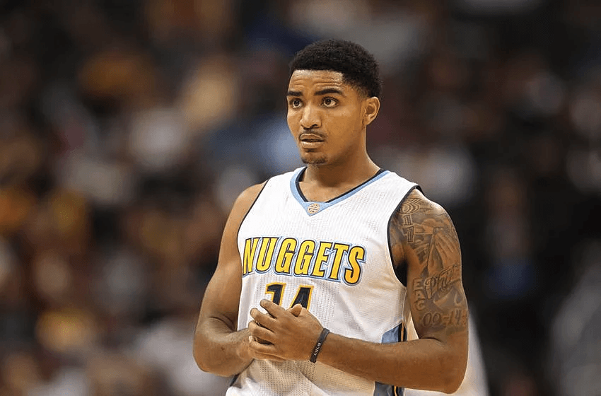 Gary Harris, young NBA star and shooting guard for the Denver Nuggets